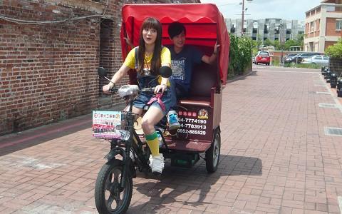 彰化-鹿港三輪車觀光導覽《90分鐘優惠方案》-預約
